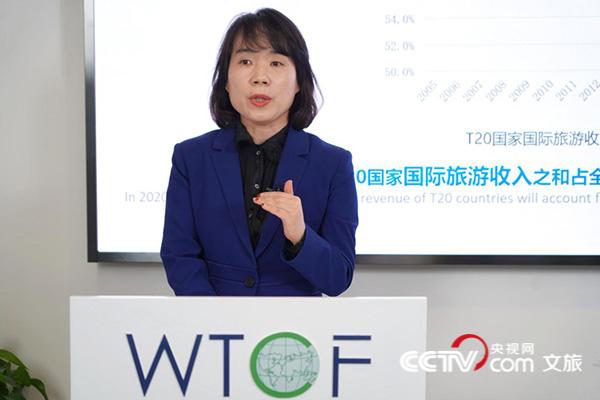 中国社会科学院旅游研究中心主任、世界旅游城市联合会特聘专家宋瑞在发布会上致辞
